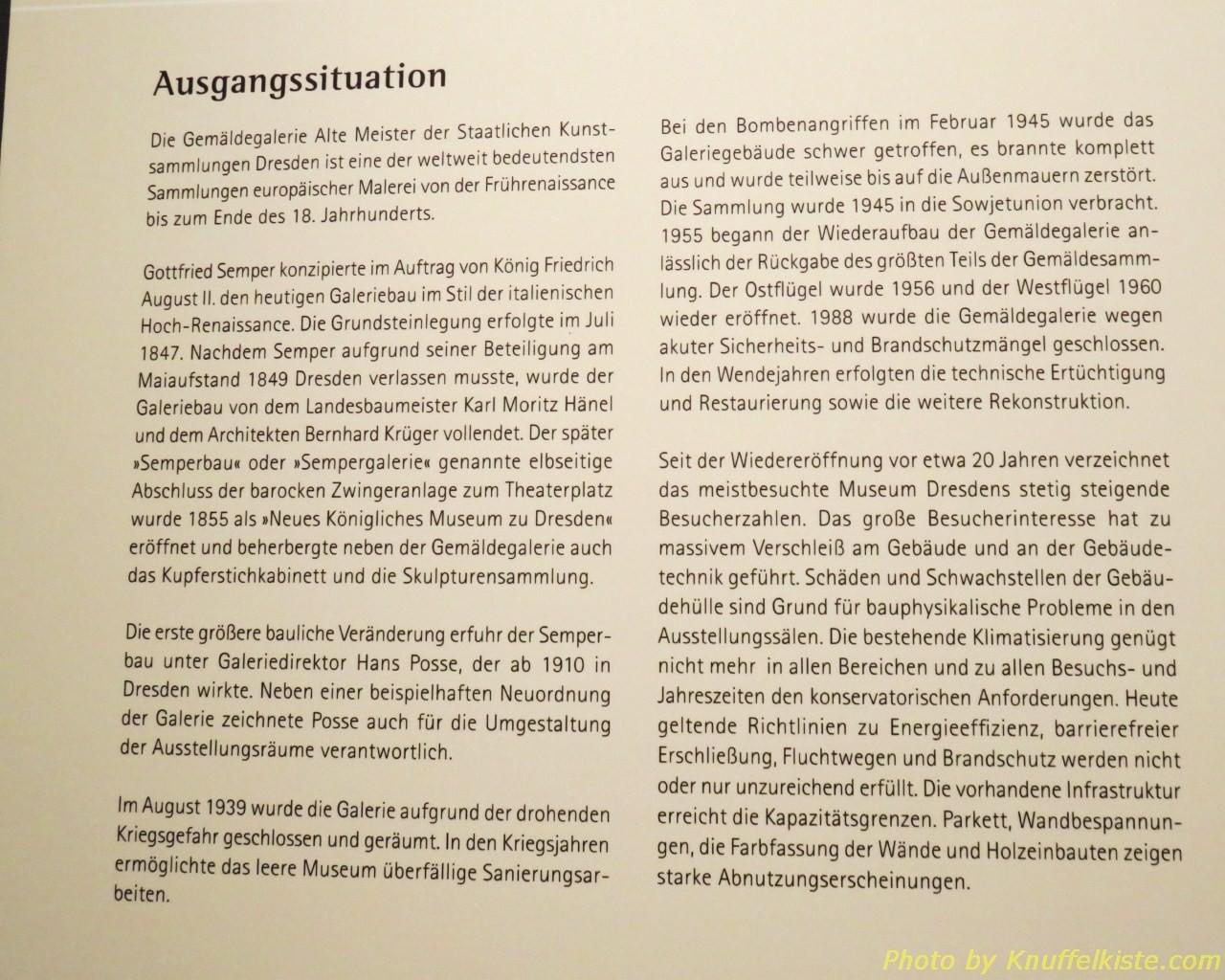 Erklärung zur Ausstellung