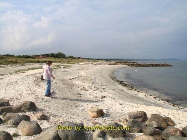 Am Strand von Saeby