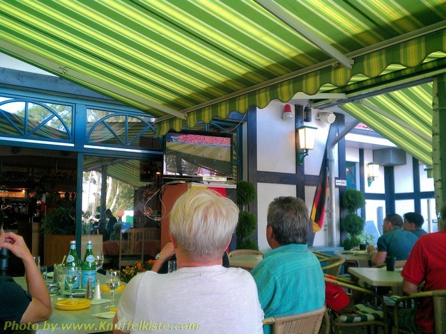 Public Viewing Pizzeria in Karlshagen