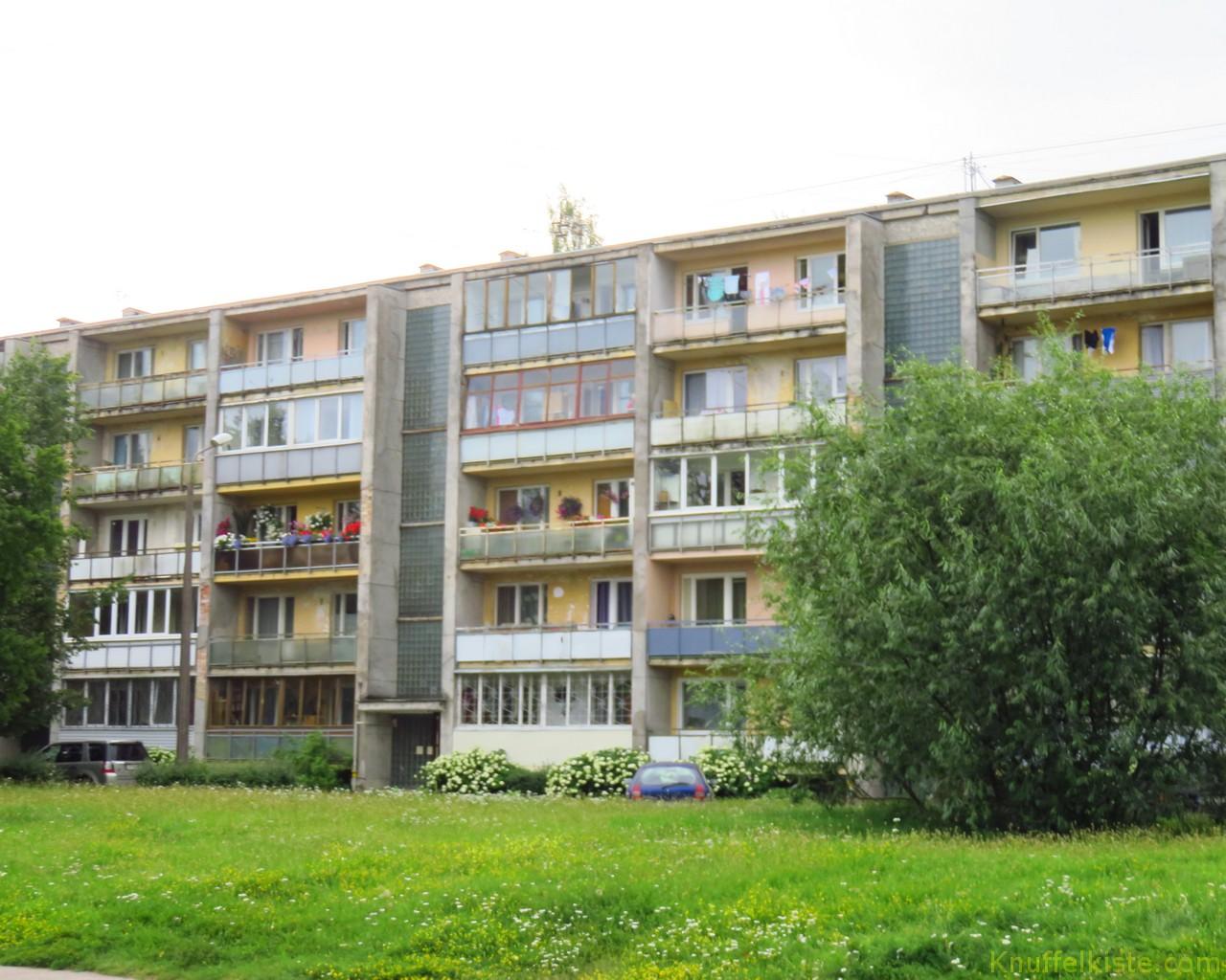 Siedlungen am Stadtrand in Riga!
