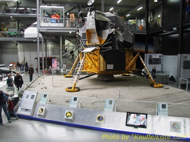 nochmal Apollo 11 Landekapsel