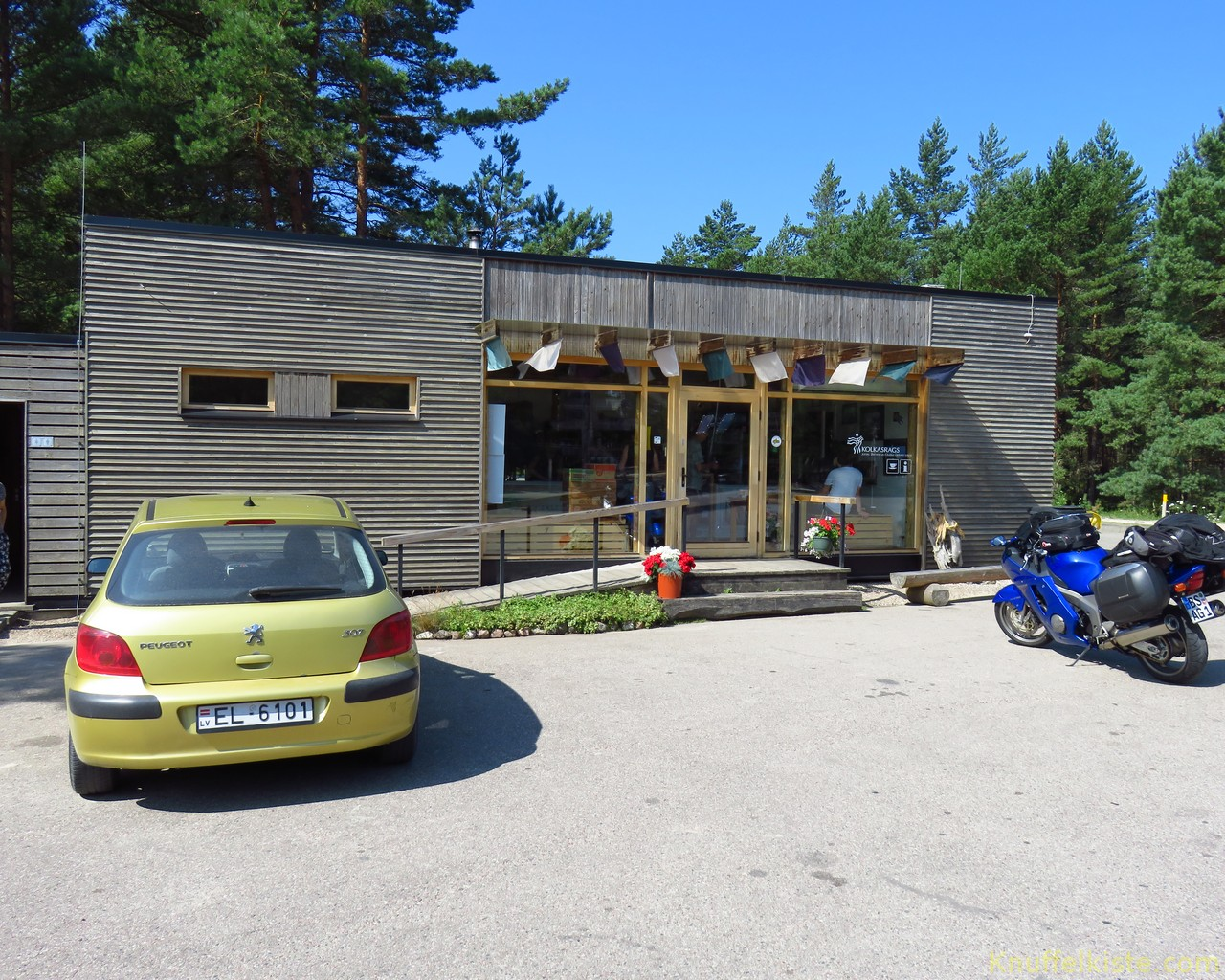 Besucherzentrum Kolka Raks