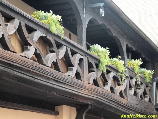 Balkon im Jagtschloss