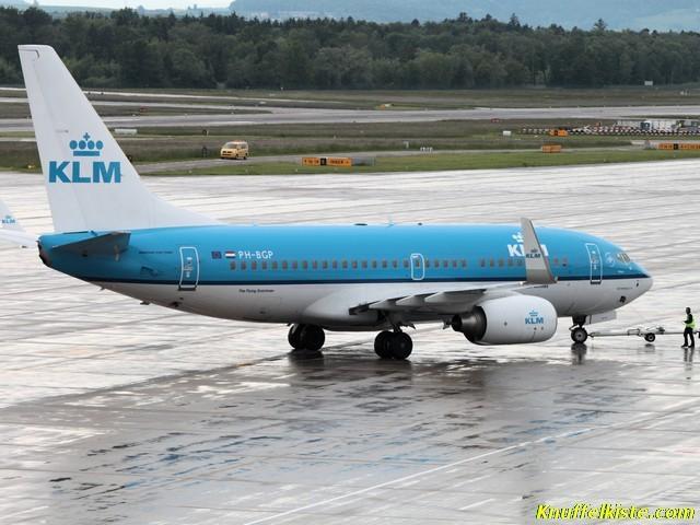KLM Maschine