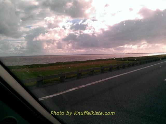 Richtung Insel Römö