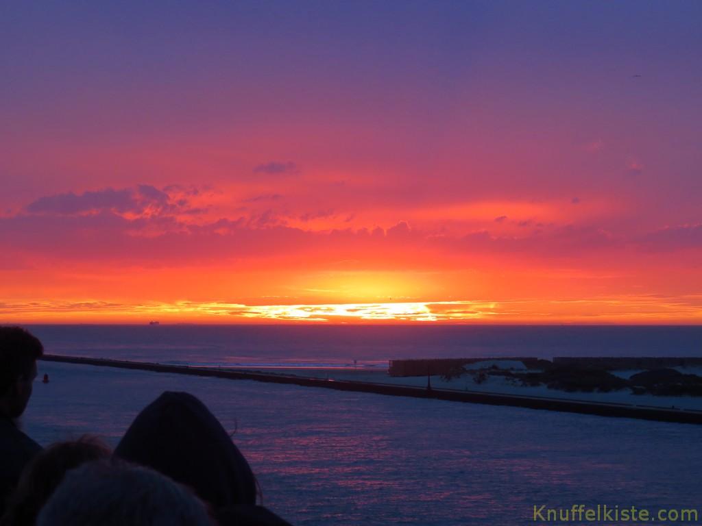 ...Sonnenuntergang !