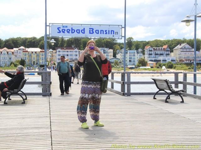Gabi auf der Seebrücke