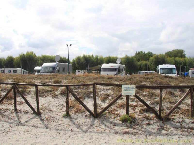 Campingplatz direkt am Strand!