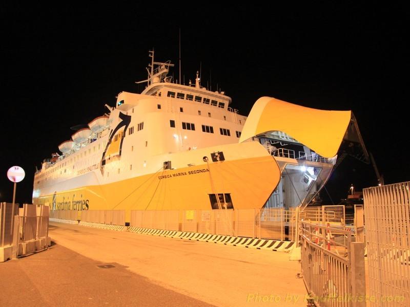 """andere Fährlinie die """"Sardinia Ferries"""""""