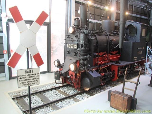 Die alte Lokomotive