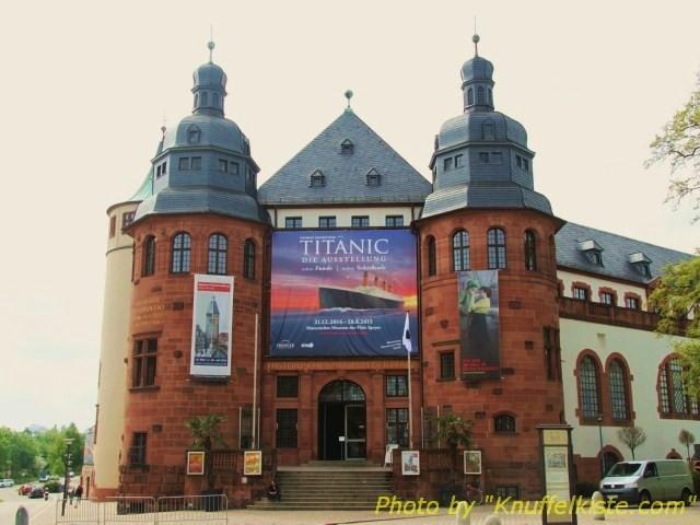 """Historisches-Museum der Pfalz Speyer mit Sonderausstellung """"Titanic"""""""