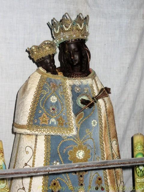 """""""Schwarze Madonna"""" in der Kapelle"""