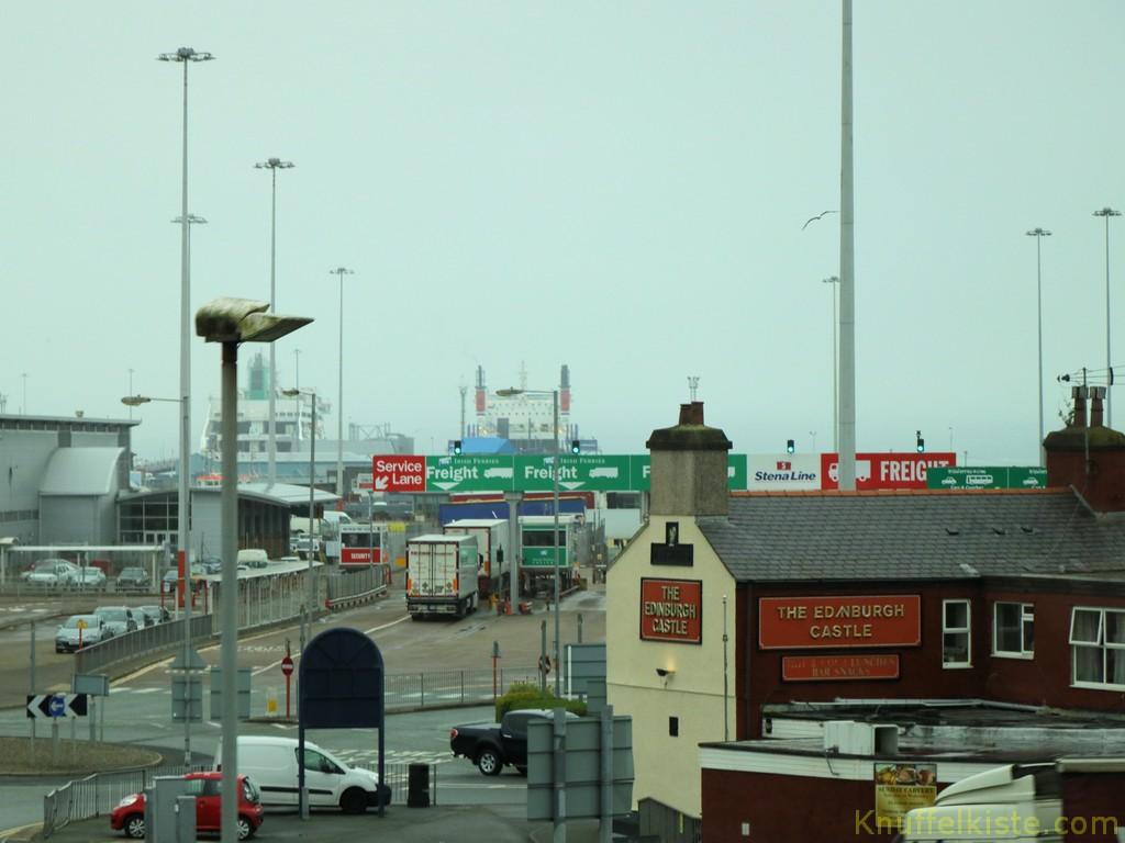 Einschiffung nach Irland!