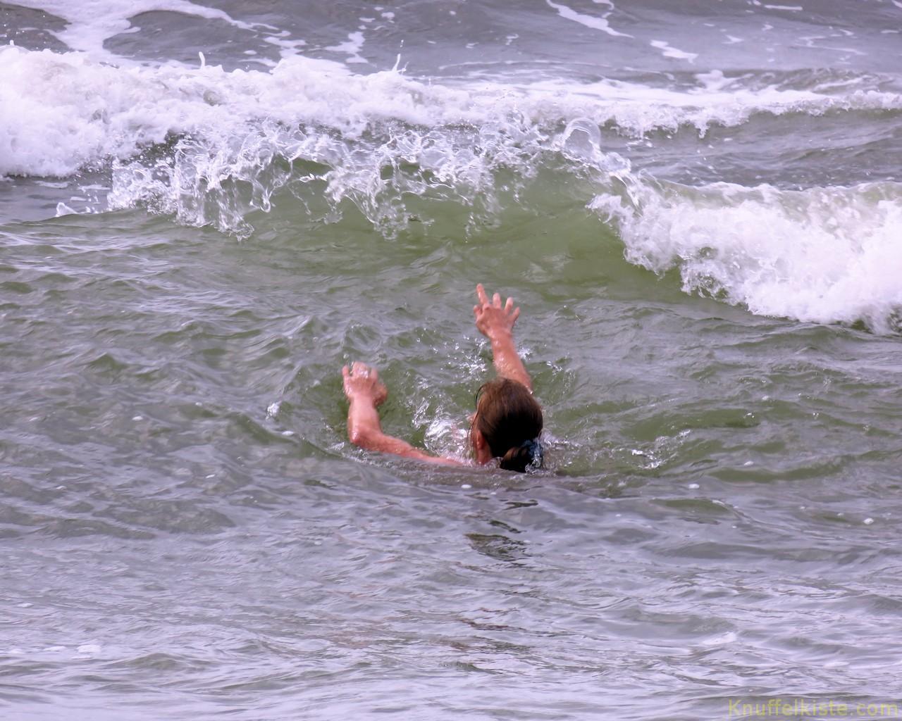 Gabi im Wasser