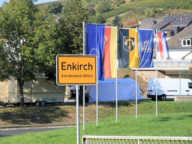 Ortsschild von Enkirch