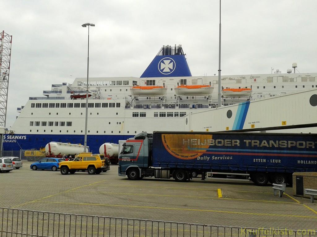 Tschüß DFDS Fähre!