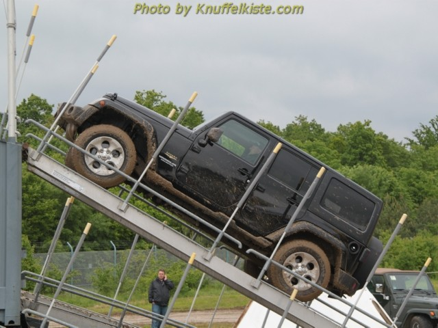 """Stand der Firma """"Jeep"""""""