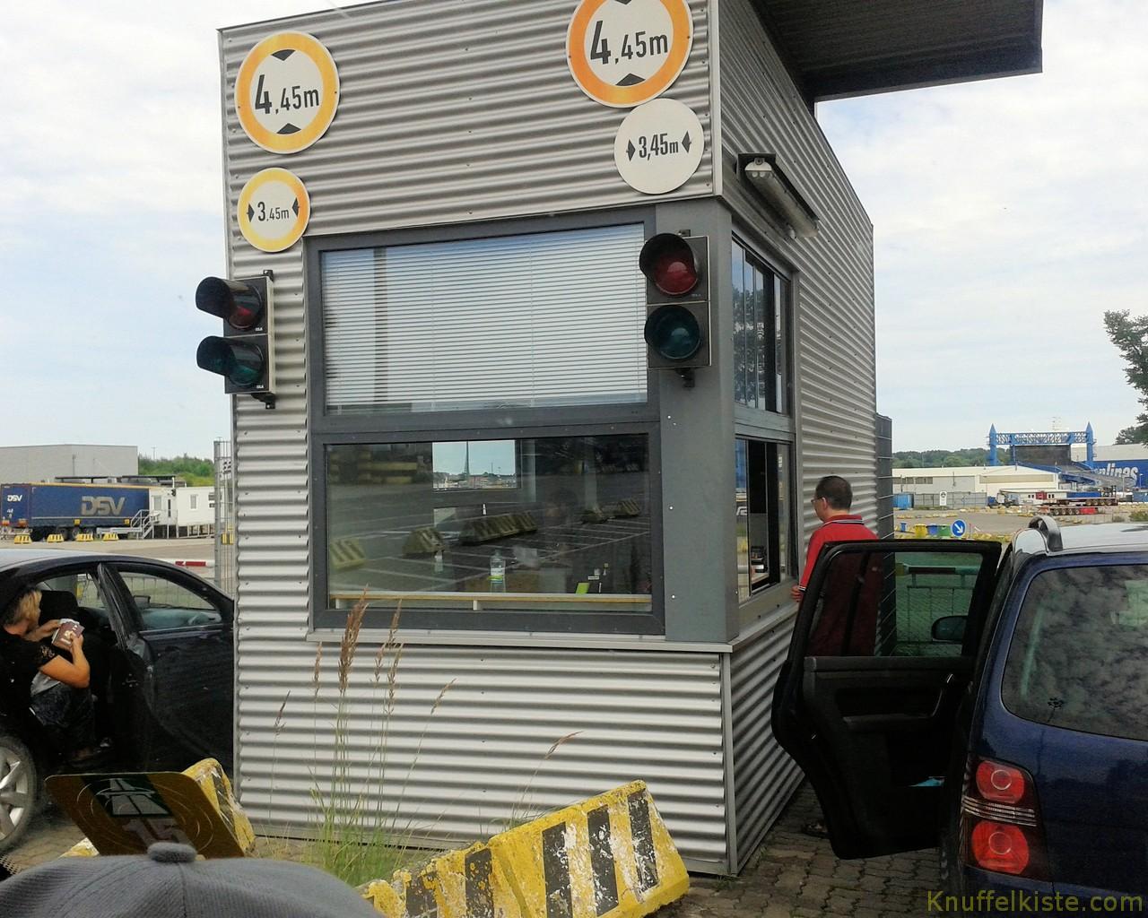 Check in Fährhafen Travemünde