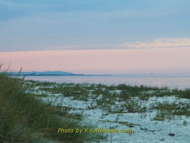 Unser Strand,Blick Richtung Saeby