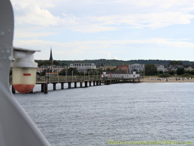 Wilkommen an der Seebrücke in Ahlbeck!