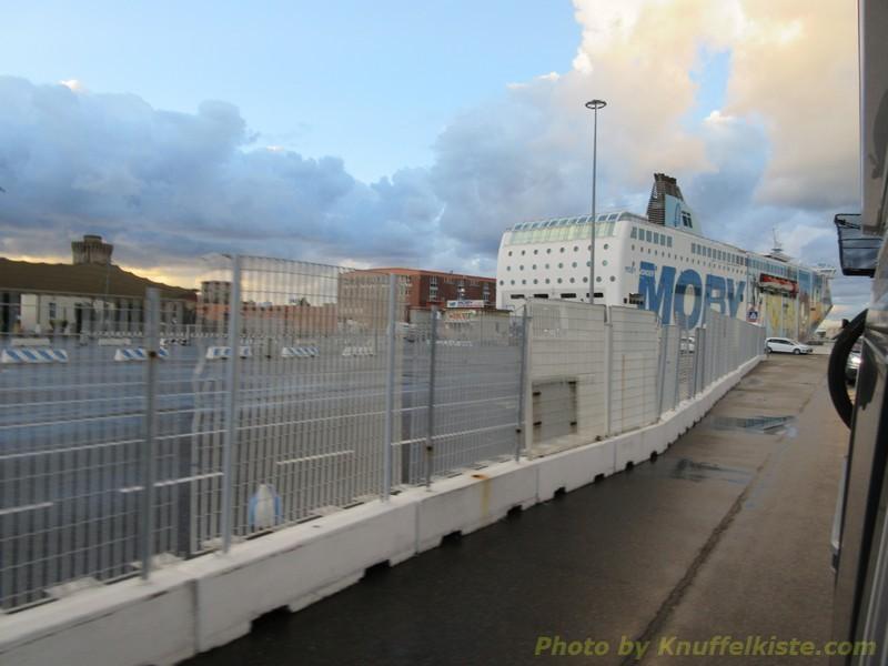 wir verlassen den Hafen von Livorno!