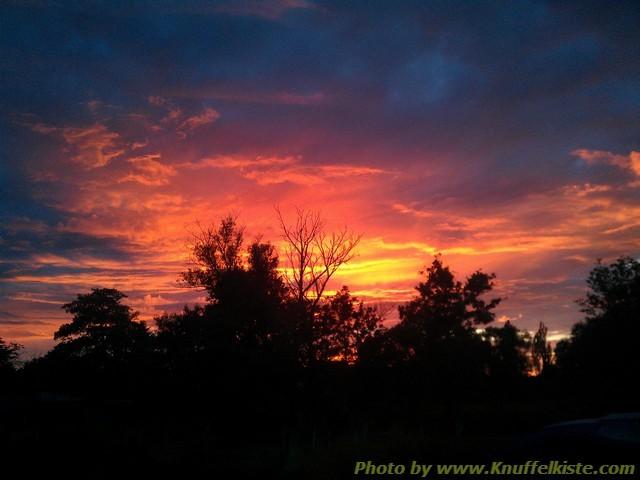 und heute wieder einmal ein herrlicher Sonnenuntergang...