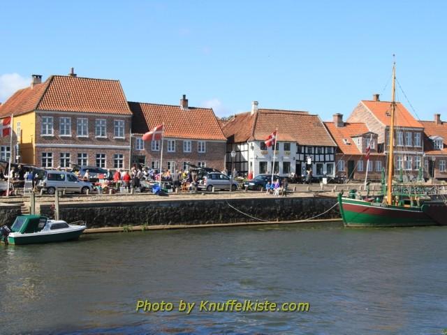 In Ribe am Hafen
