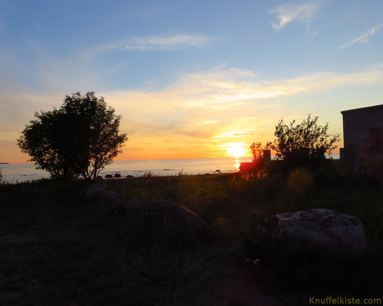 ein paar Sonnenuntergangs Fotos!