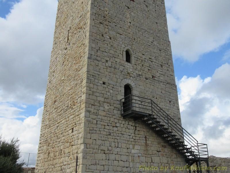 Der Turm der Ruine