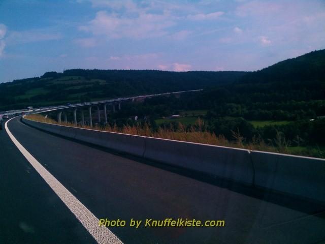 Irgendwo unterwegs auf der Autobahn
