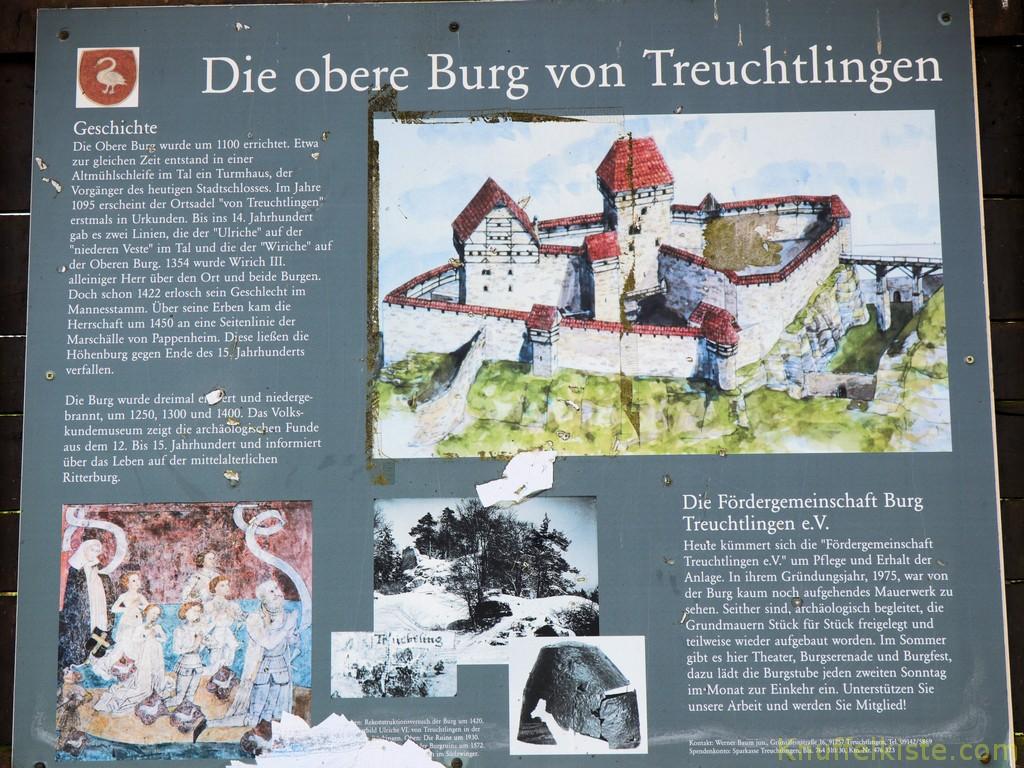 untere Burg von Treuchtlingen