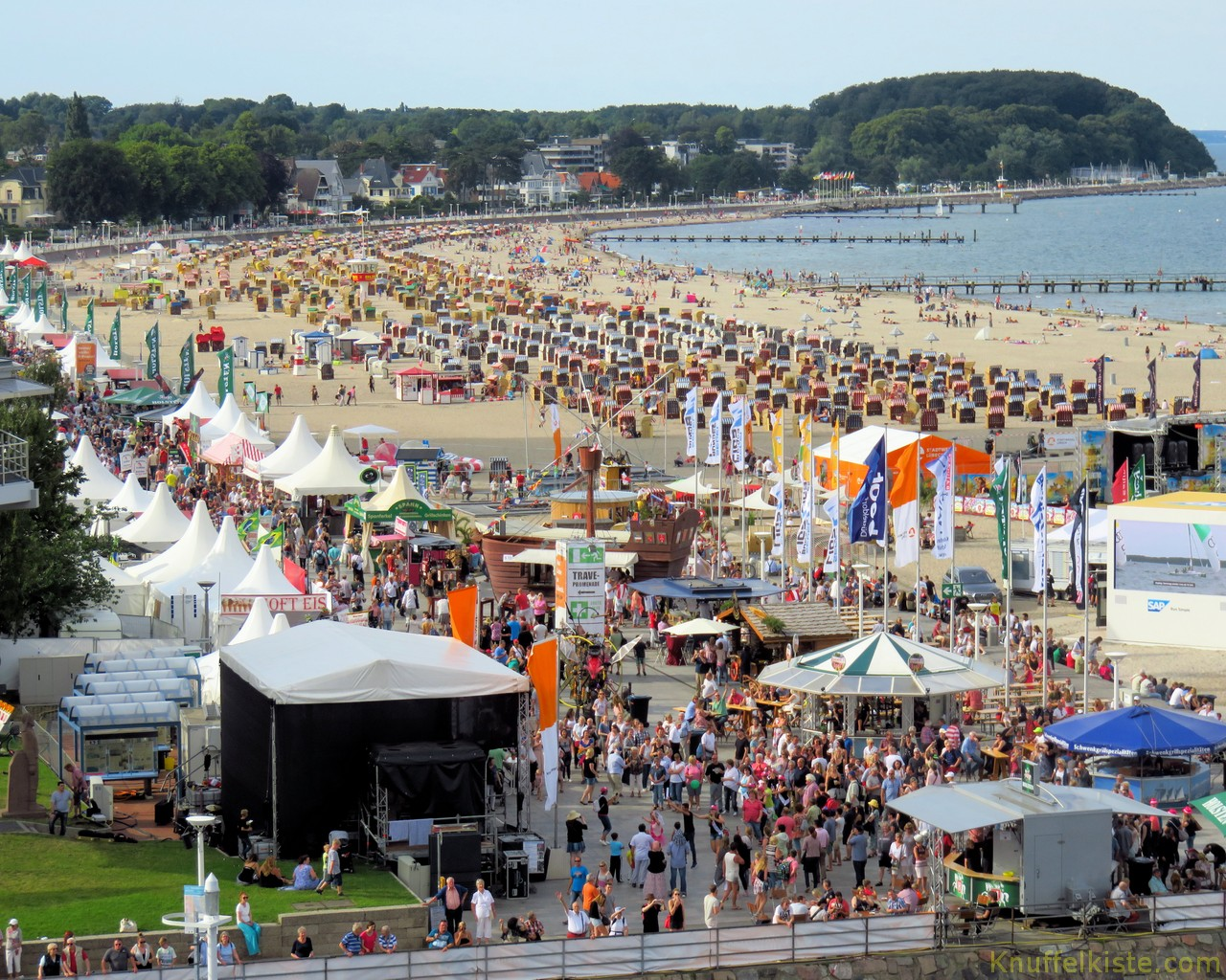 Fest am Strand