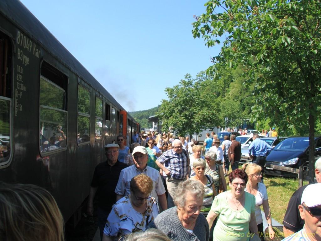 Bahnhof Weizen erreicht!