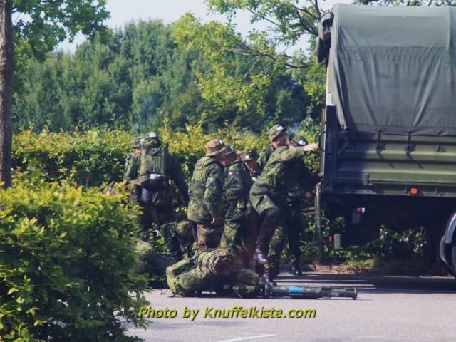 Dänisches Militär