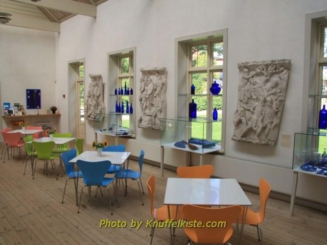 Das kleine Restaurant im Museum