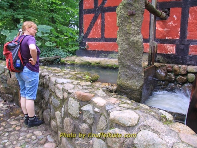Gabi an der Mühle