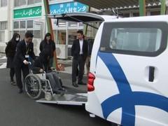 UDタクシーは、車いすの方、荷物が多い方、観光の方、妊婦さんにも好評です。