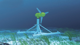 Meeresströmungs-Kraftwerke