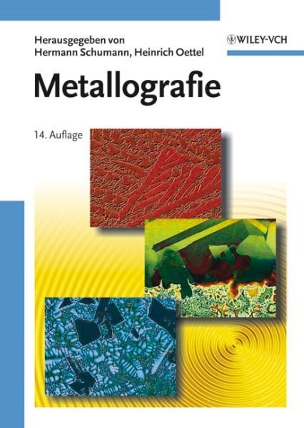 Metallographle-Buch von  Schumann