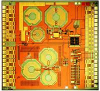 868-MHz-Transceiver als RFIC, Foto: Fraunhofer Institut
