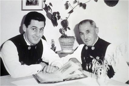 Michl und Josef Eberwein
