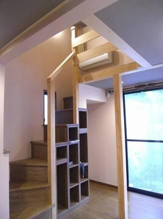 ■天井の高い個室アフター2