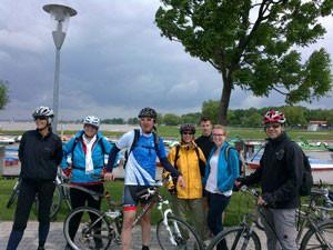 Die Radwallfahrt im Mai 2013 ging, so wie 2012, um den Neusiedler See.