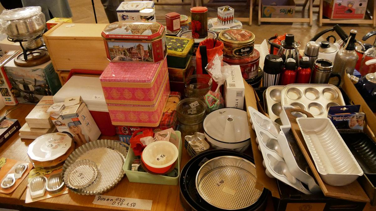 Blechdosen, Kuchen/Gugelhupfformen, Keksformen