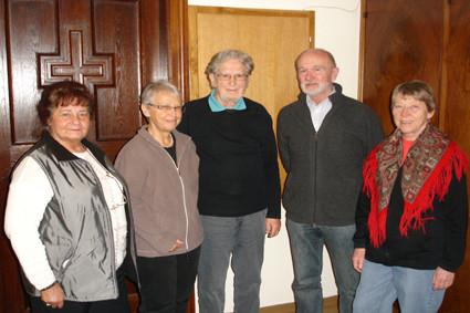 Die Teilnehmer des 1. Glaubensgesprächs-Kreises am 15.Jänner 2001.
