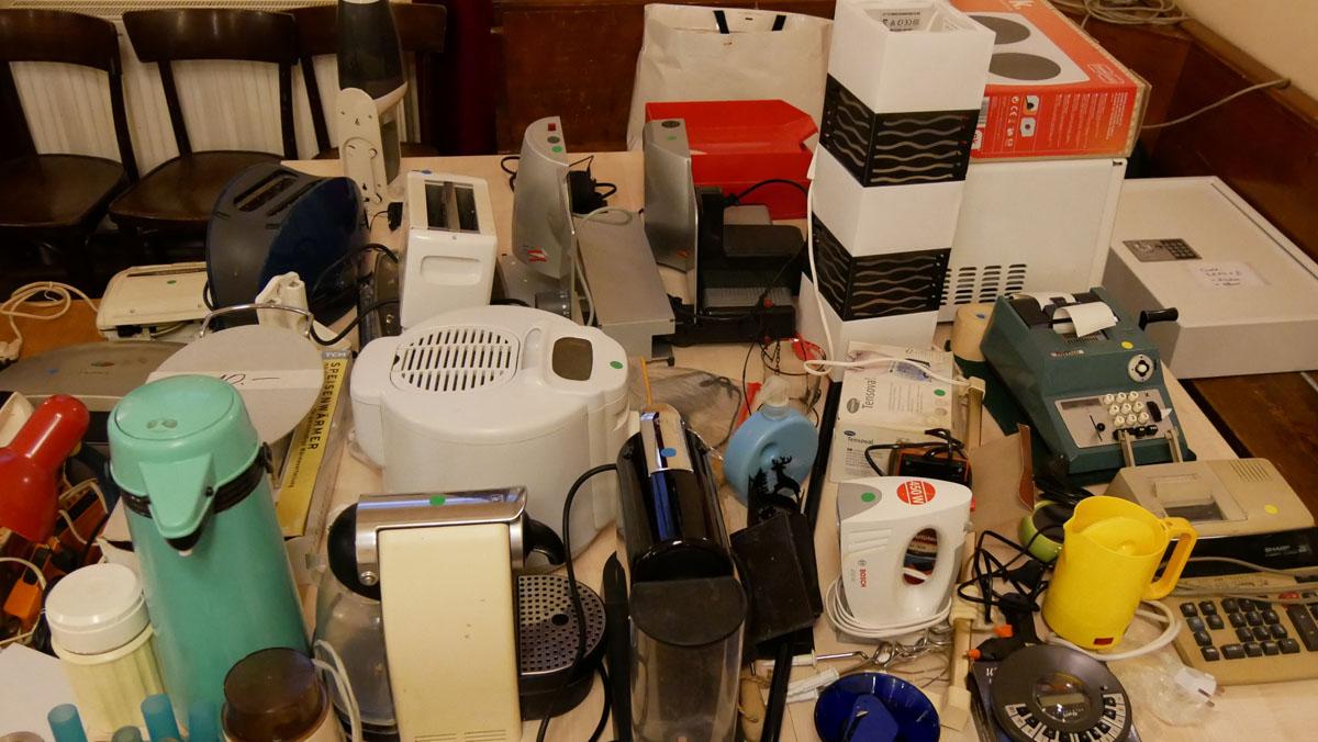 Diverse elektr. Haushaltsgeräte