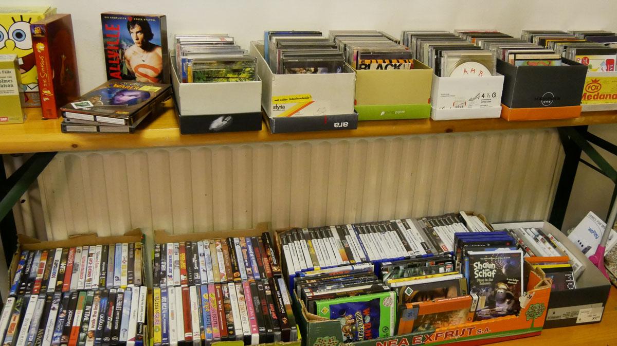 CDs und DVDs