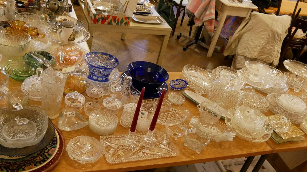 Glasschüsseln, Glastablets