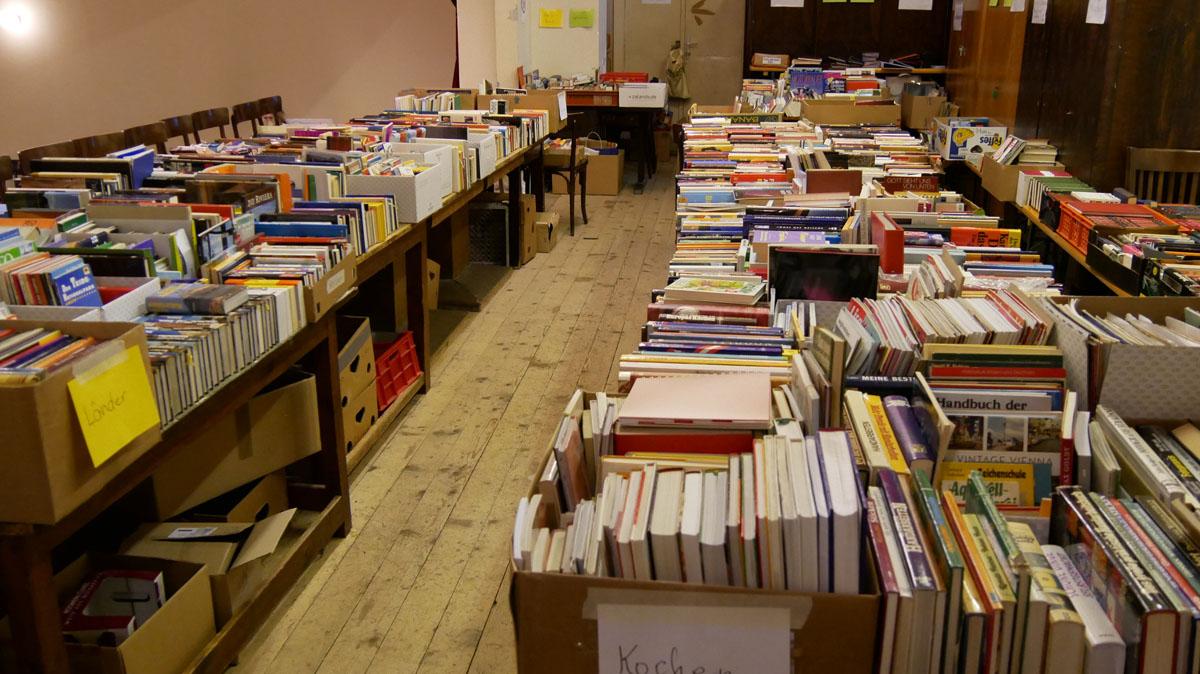 Große Bücherauswahl