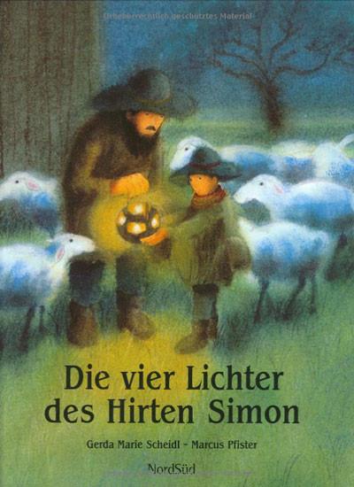 """Bei der Kindermette hören wir eine Geschichte aus dem Buch """"Die vier Lichter des Hirten Simon""""."""